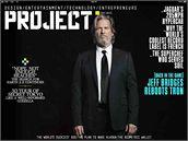 The Project - titulní strana prvního časopisu pro iPad