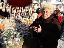 Tradiční jarmek ve Valašských Kloboukách. (4. prosince 2010)