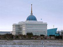 Astana - prezidentský palác Ak Orda