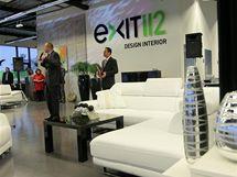 Otevírání nového designového centra Exit 112 na severní periferii Jihlavy.