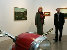 Moravská galerie v brně připravila výstavu Výstava nese název Kamil Lhoták čili Útěcha z techniky.