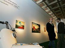 Moravská galerie v brně připravila výstavu Kamil Lhoták čili Útěcha z techniky.
