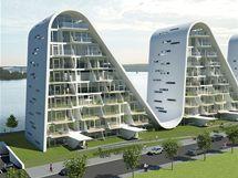 Projekt studia Henning Larsen Architects počítá i s  podzemními garážemi