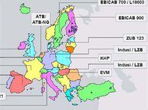 Zabezpečovací systémy evropské železnice