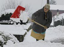 Sněhová přikrývka pokryla i sever Itálie