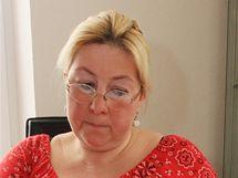Romana Bednářová, která řeší sousedský spor o cestu k domu.