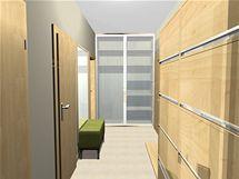 Ideálně zařízený byt 3+kk v novostavbě pro tříčlennou rodinu