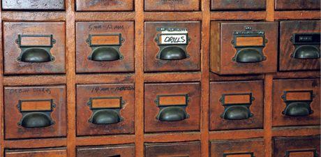 Registrační skříň