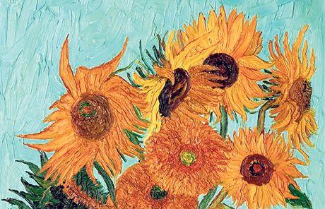 Slunečnice od van Gogha