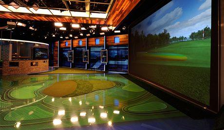 Studio pro zpravodajský pořad Golf Central amerického Golf Channelu.