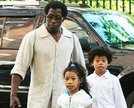 Wesley Snipes se svými dětmi