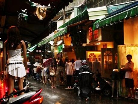 Tržiště za deště