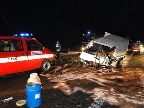 Nehoda u Sadové