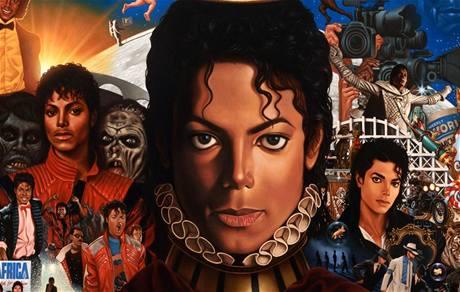 Michael Jackson: Michael (z obalu alba)