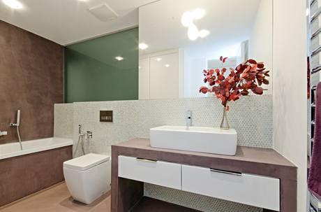 Koupelnu pro děti doplnila mozaika