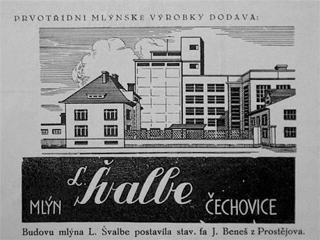 Zatopený Zlechovský mlýn na historickém vyobrazení.