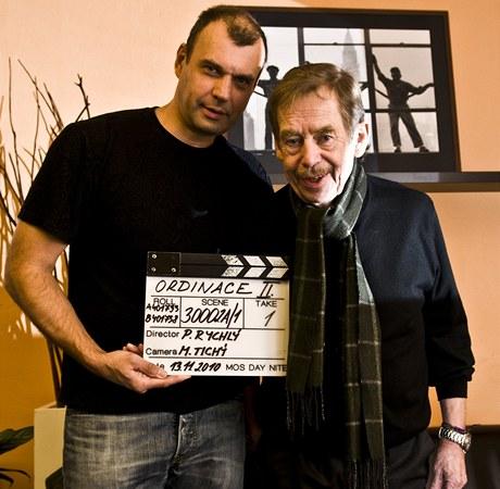 Petr Rychlý a Václav Havel