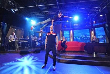 Siloví akrobaté DaeMen v Show Jana Krause