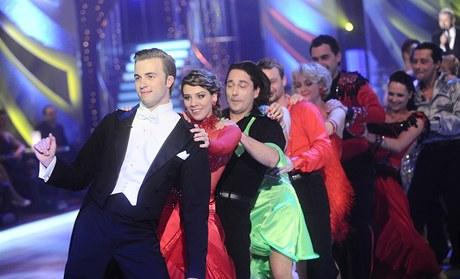 Taneční páry čtvrté řady StarDance