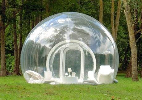 Průhledná bublina dostala název CristalBubble. Autorem je francouzský designér Pierre-Stéphane Dumas