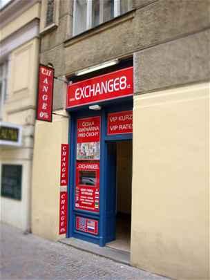 Směnárna Exchange 8 - 2