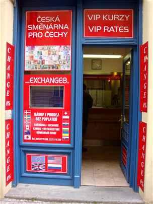 Směnárna Exchange 8 - 3