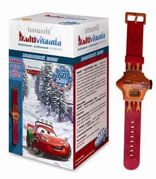Imunit Cars + hodinky