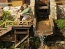 Stovky figurek jsou k vidění v betlémech vystavených v domě J. A. Schumpetera v Třešti.