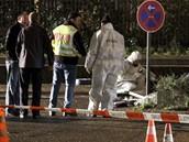 Přepadení banky v Karlsruhe skončilo smrtí obou lupičů.