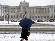 Sníh ochromil evropské země
