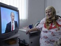 Vladimir Putin v televizní debatě s řadovými Rusy (16. prosince 2010)