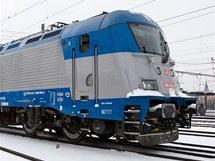 Nová lokomotiva Škoda 109E. (15. prosince 2010)