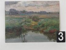 Obraz ukradený v pardubické bance