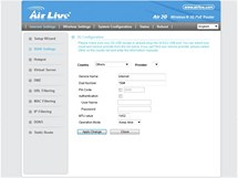 screenshoty router airlive