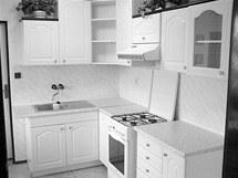 Původní kuchyně po první rekonstrukci