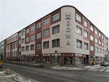 Příklad prostějovské industriální památky - Dona.