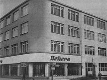 Historický snímek prostějovské továrny Dona.
