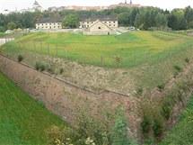 Pevnosti poznání chce olomoucká Univerzita Palackého vybudovat v Korunní pevnosti (na snímku bastion a prachárna).