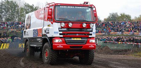 Kamion DAF Hanse Bekxe pro Dakar 2011.