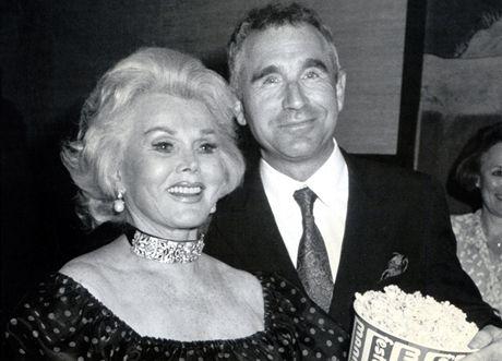 Zsa Zsa Gaborová s manželem v roce 1986