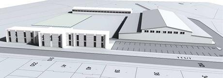 Návrh plánovaného parkurového závodiště v Olomouci - Lazcích.