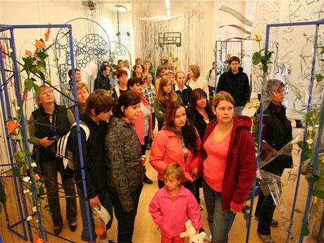 Floristická střední škola, s.r.o. - výstava