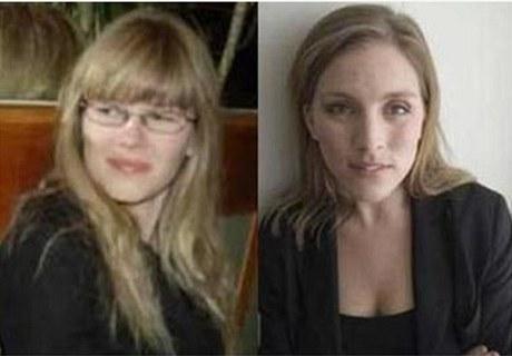 Švédky, které podaly na Assange trestní oznámení. Slečna W. (vpravo) a A.