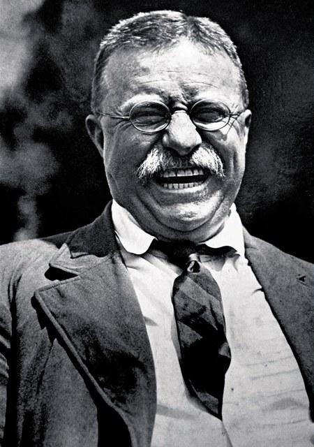 Americký prezident Theodore Roosevelt