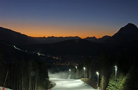 Rosshütte, noční lyžování