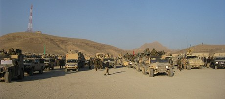Čeští instruktoři v afghánském Vardaku