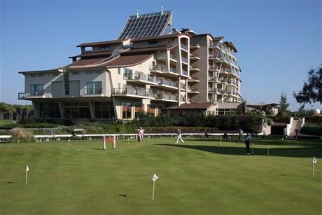 Golfový hotel Sueno v tureckém Beleku.