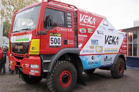 Tým MAN se vrací v roce 2011 na Dakar, jedničkou za volantem bude Marcel Van Vliet.