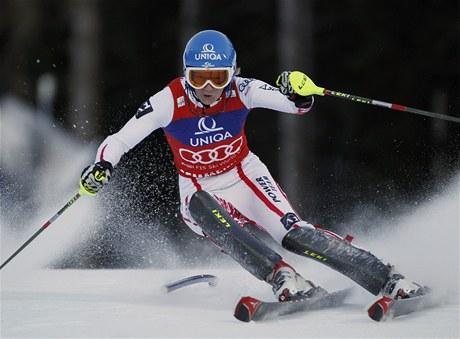 Marlies Schildová z Rakouska opanovala první kolo slalomu Světového poháru v Semmeringu.