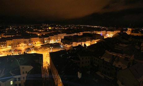Vánoční oslavy na věži sv. Jakuba v Jihlavě